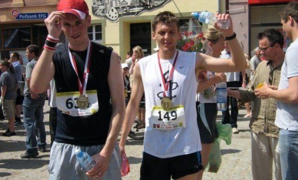 Nasi Nauczyciele w Toruńskim Maratonie (2008)