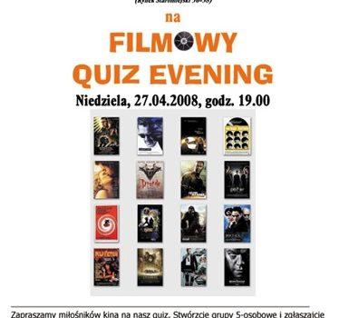 Quiz Evening. U Szwejka (27.04.2008)